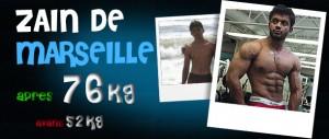 Avant-Après et avis sur les stéroïdes cure de dianabol : Zain - Marseille - PACA