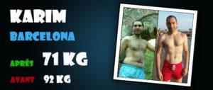 Avant-Après et avis sur les stéroïdes cure de dianabol : Karim 31ans - Barcelona