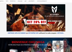 Avis Test Boutique mega-steroids