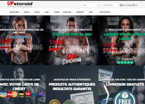Avis sur upsteroide.com